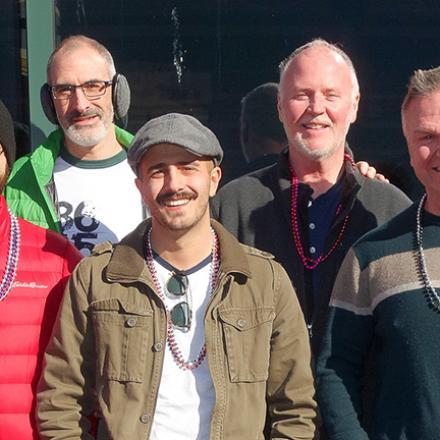 Rehoboth Beach 2020 Gumbo Crawl - Brian Gray, Joshua Dyal, Damien Gray, Chris Terrone, Bobby Hughes, Ken Donahue, Joe Scott (Cooter Browns).