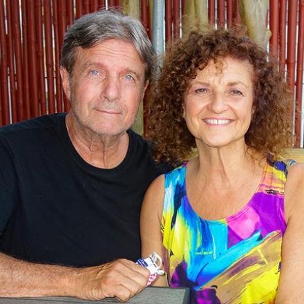 Chris Kettner, Pamala Stanley at Aqua