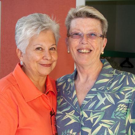 Susan Jimenez, Cathy Benson (2010)