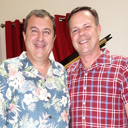 Bob Bonitati Memorial Celebration at Chris and Brian's