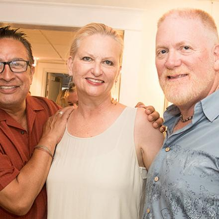 Vincent & Yvonne's Art Opening at CAMP Rehoboth