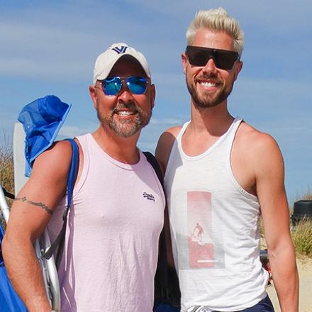 Michael Taggert, Brendon McLaughlin at Poodle Beach