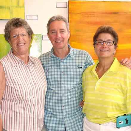 Sondra and Wards Opening at Gallery 50