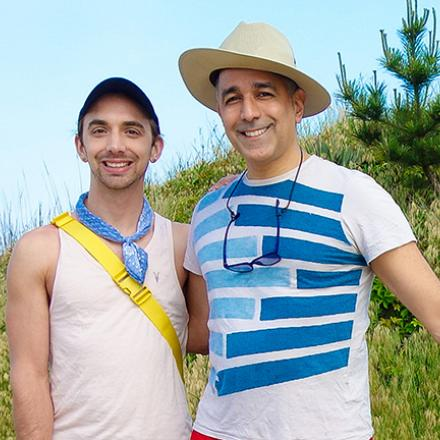 Jared Bieschke, David Arma at Poodle Beach