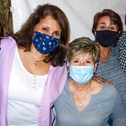 Darryl Ciarlante, Suzanne Krupa, Joanne Glussich, Susan Shollenberger, Deb Bievenour at Diego's