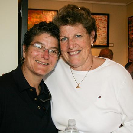 Nancy Kaiser, and Mary McElhone at Ward Ellinger Gallery (2008).