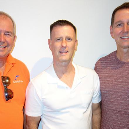 Rick Kirchhoff, John Swift, Ron Bowman