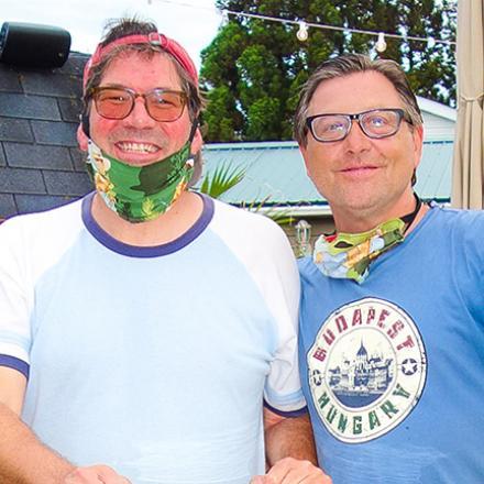David Lloyd, and David Grzelak at Diego's