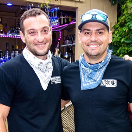 Bobby Arra, Eddie Adem at Diego's