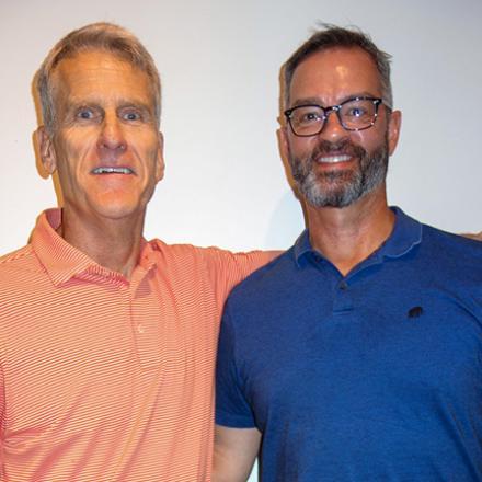 RB Mayor Paul Kuhns, Jeff Trunzo