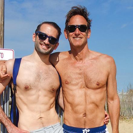 Matt D'Amico, Scott Brinitzer at Poodle Beach