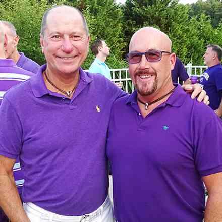 Lewis & Davids Purple Party