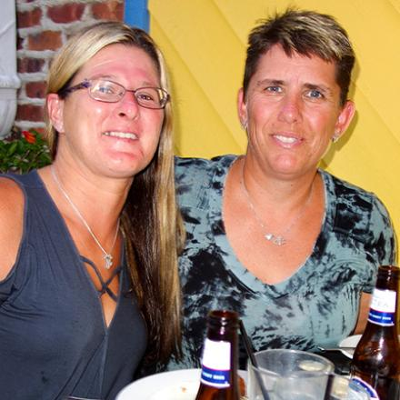 Cassi Carter, Suzanne Carter at Rigby's