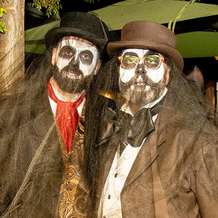 Adam and Terry's Halloween Party at CAMP Rehoboth