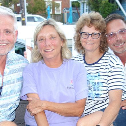 Dan Bishop, Sandy Somerfield, Cindy Scott, Mark Somerfield