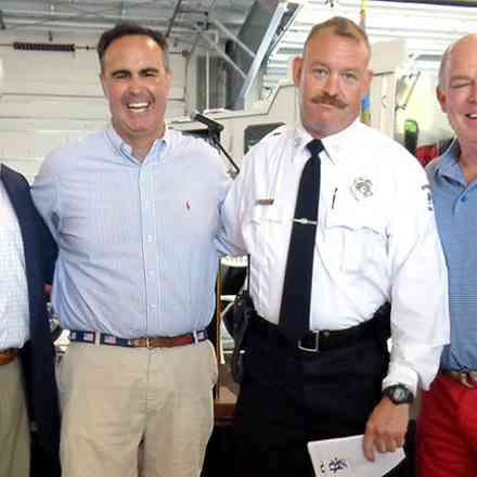Dedication of new Rehoboth Fire Station