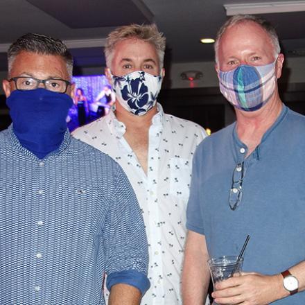 Bob Suppies, Joe Clark, and Bobby Hughes at The Pines