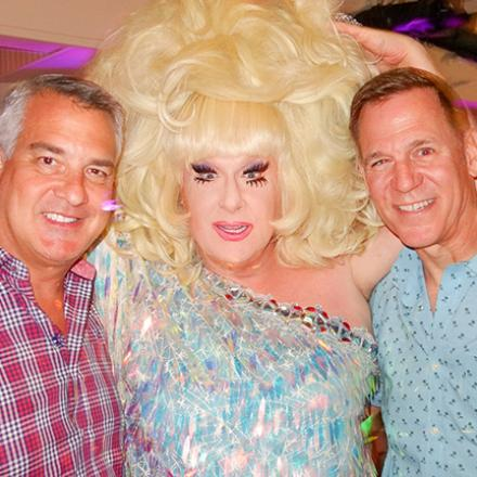 Wes Combs, Lady Bunny, Greg Albright