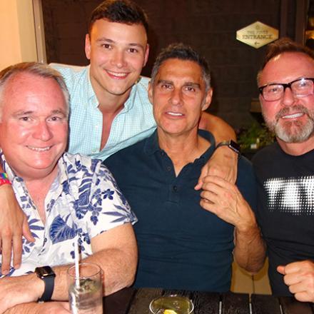 Dave Lyons, Kevin Fraser, Gianni Ballarin, Kevin McDuffie