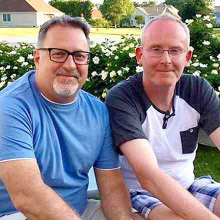 Jeff and Bob - Memorial Party