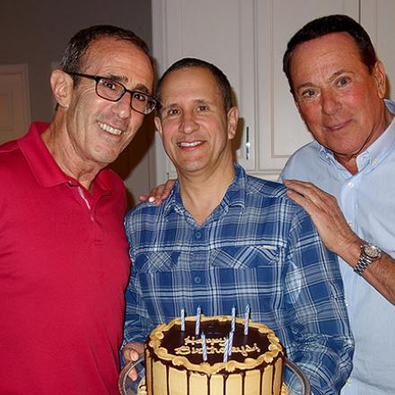 Frank's Birthday Trio Party