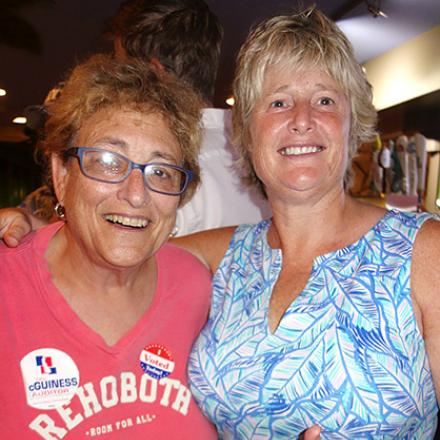 Kathy's Primary Night Party at Grotto's