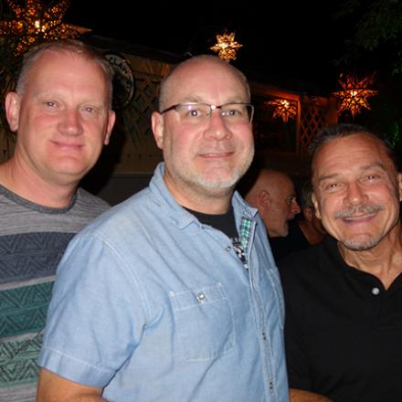 Patrick Carroll, Tim Andrews, Marc Yesberger