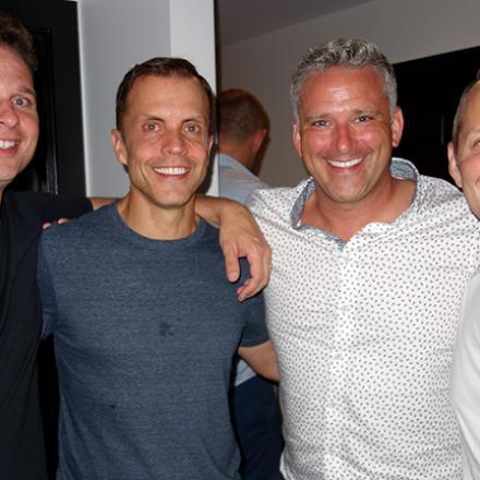 Richard Jordan, Matt Blocher, Joe Ireland, Matt Alion