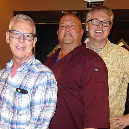 John Black, Woody Voelker, John Glenstrup