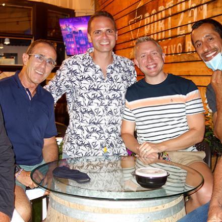 Dan Kyle, Gary Seiden, Michael Cohen, Matthew Stensrud, Ah Bashir, and Marvin Miller at Port 251