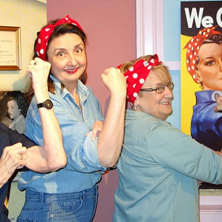 Rosie the Riveter Night at the Museum