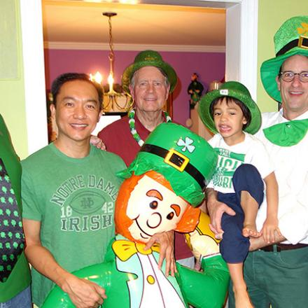 George and Jack's St. Patricks Day Party