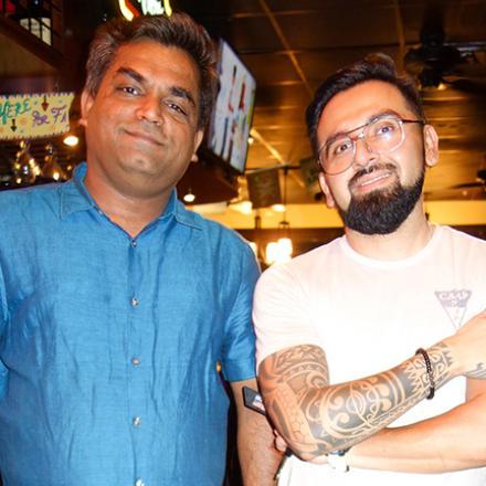 Mit Patel and Danny Ortiz at Dos Locos