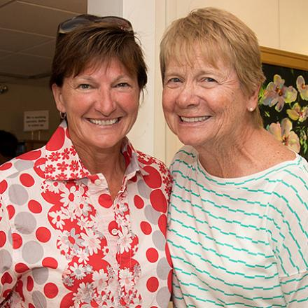 Closing Bid Reception for HeART on a String at CAMP Rehoboth